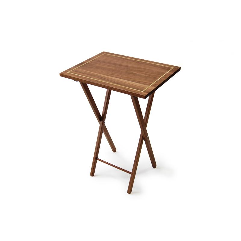 Folding Walnut Table