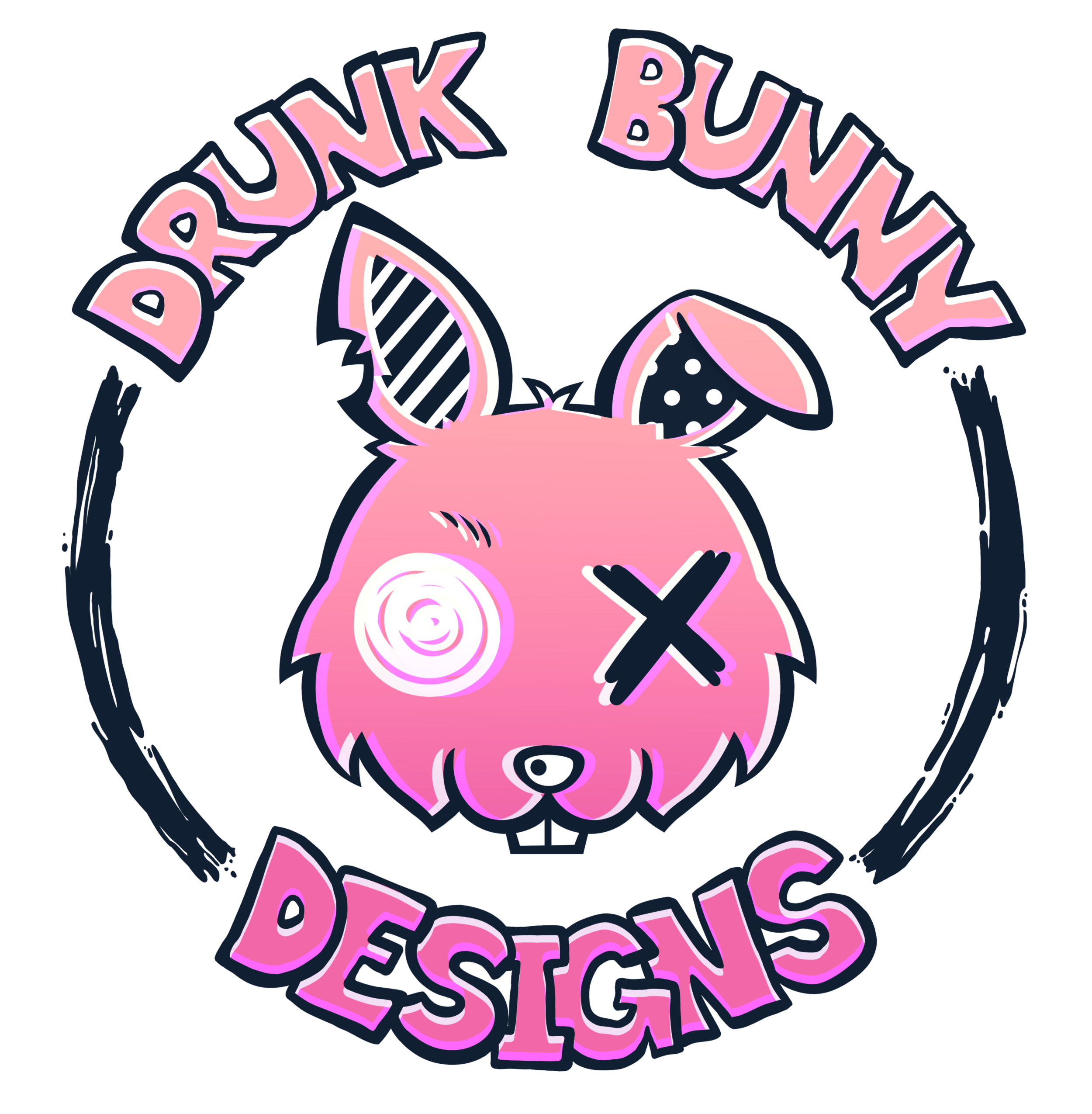 Drunk Bunny Designs - Drunk Bunny Designs is all about mixing old with the new in the most fun and exciting way. Each item is hand crafted with the utmost care to bring you that warm fuzzy feeling of nostalgia. With an array of upcycled jewelry and gilded toys there is something for everyone.IG: @drunkbunnydesigns