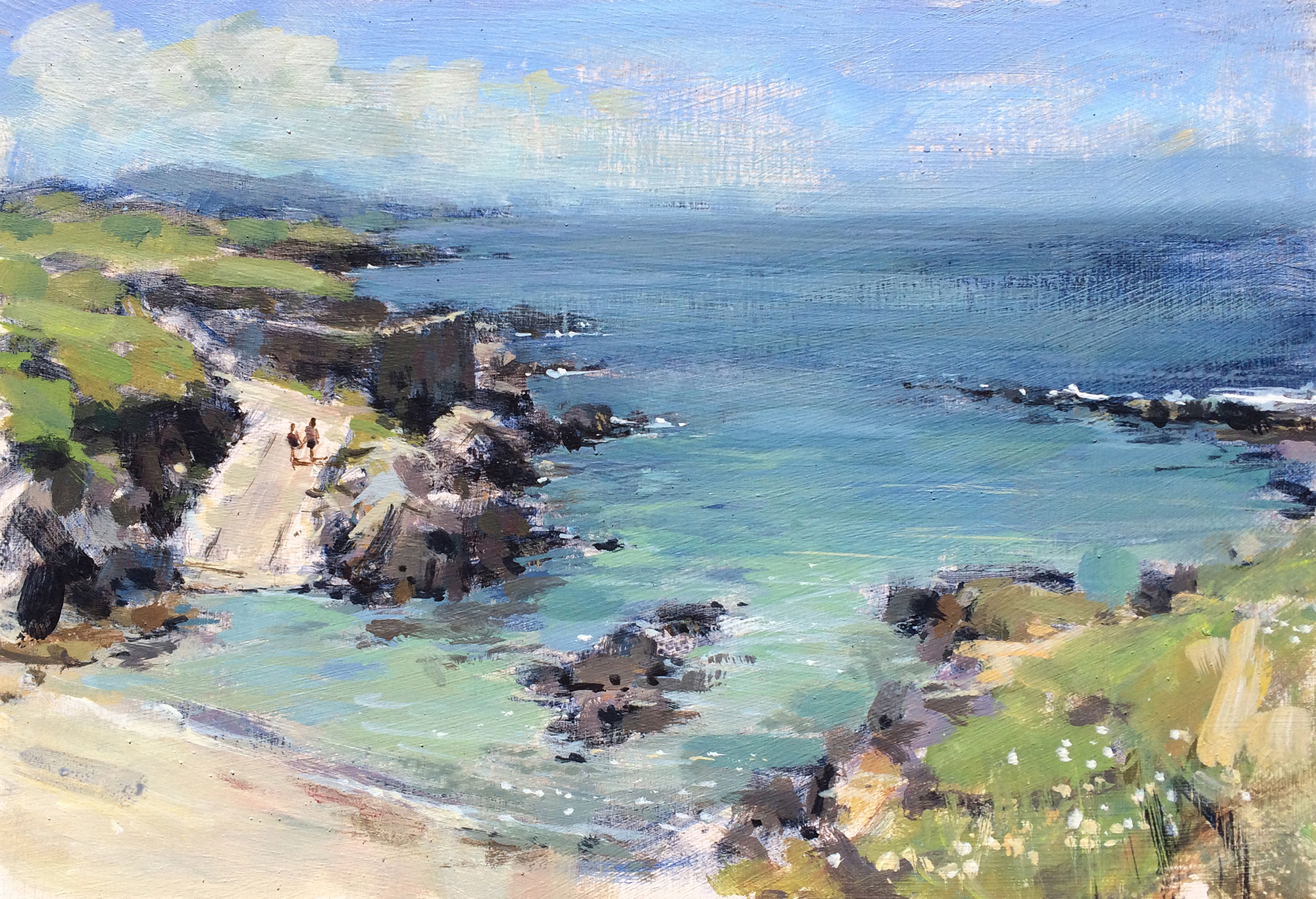 Tony Hinchliffe,  Secluded Bay