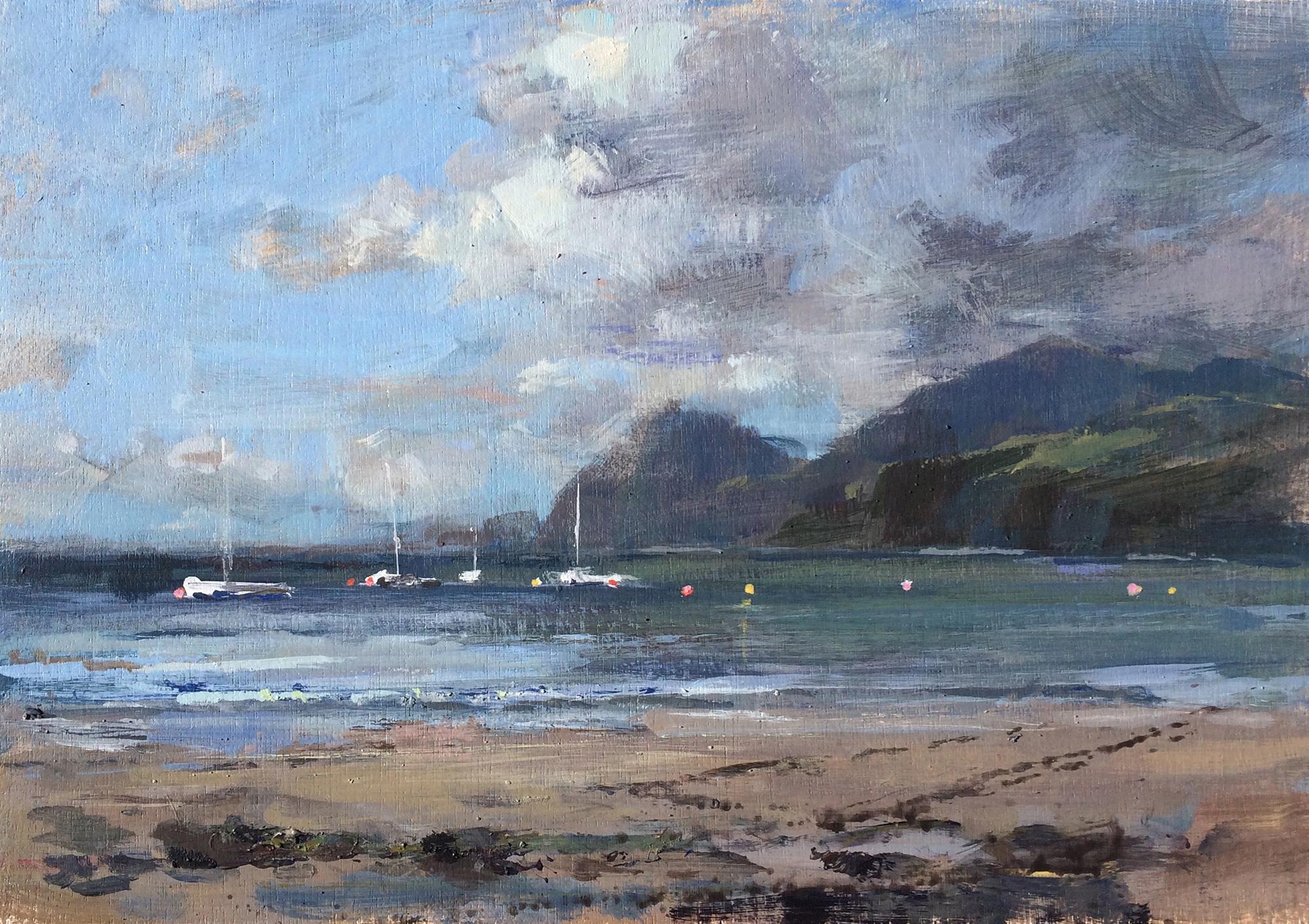 Tony Hinchliffe,  Beach and Boats, Nefyn