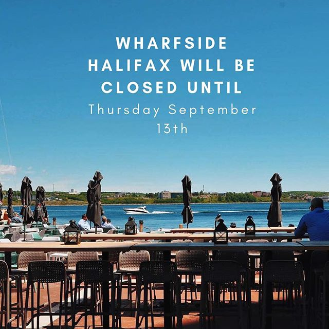 We are experiencing some maintenance issues! See you Thursday at the Wharf 👋🏽