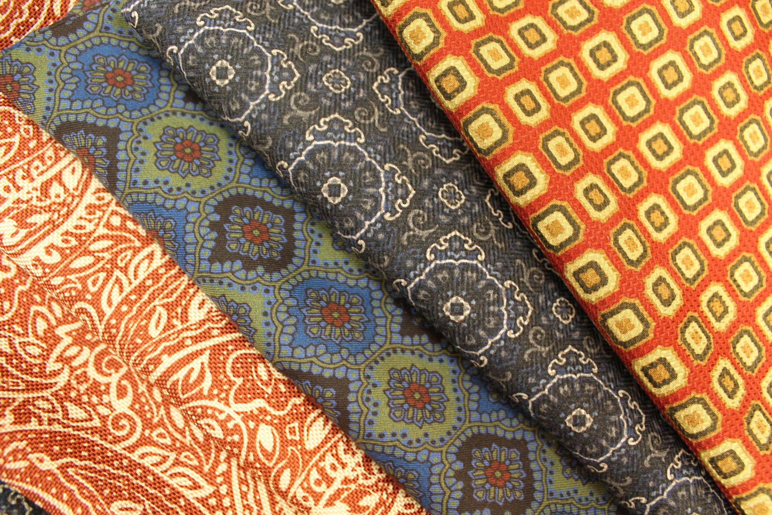 Silk & Wool Scarves