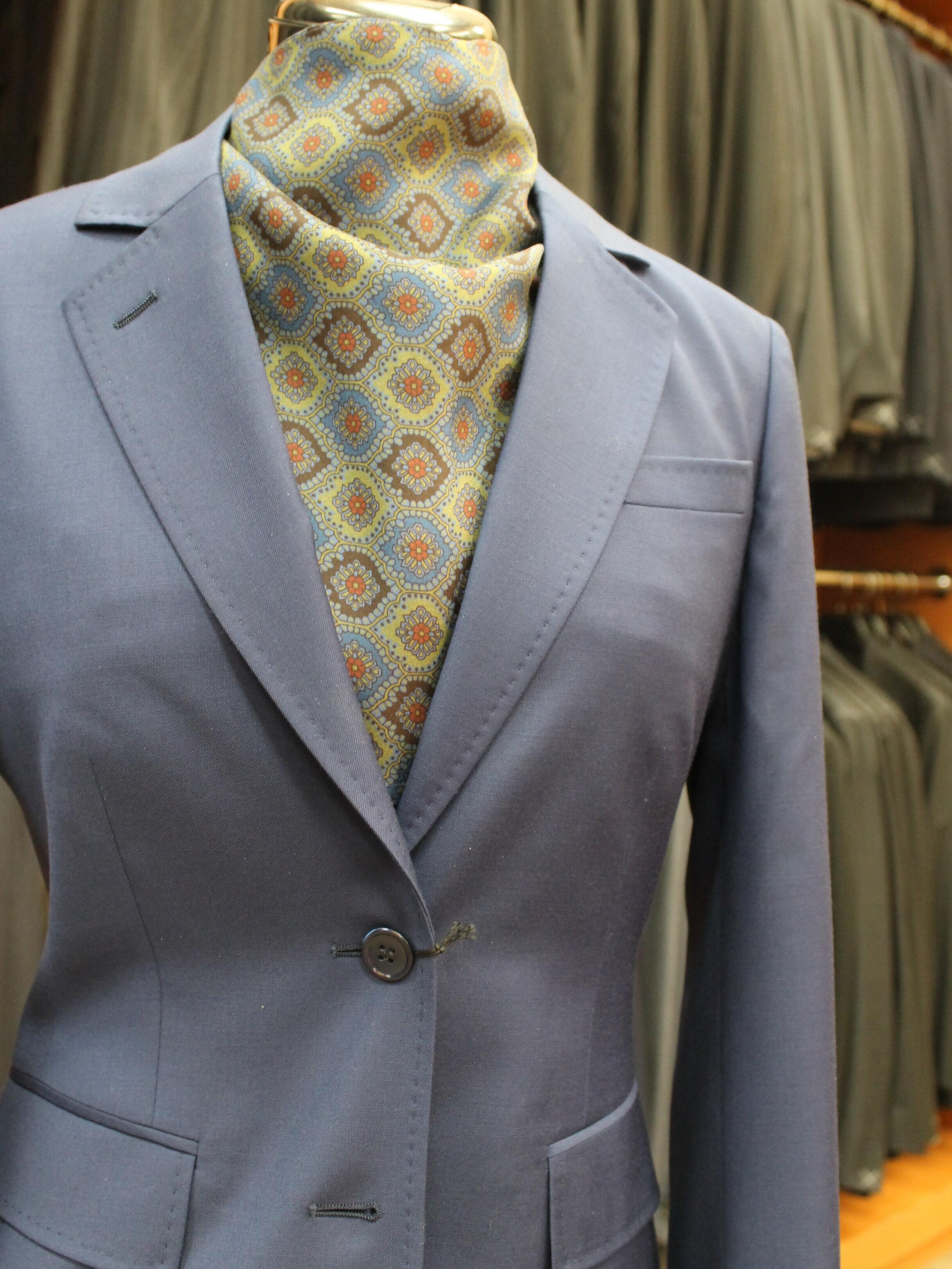Women's Blazer & Silk Scarf