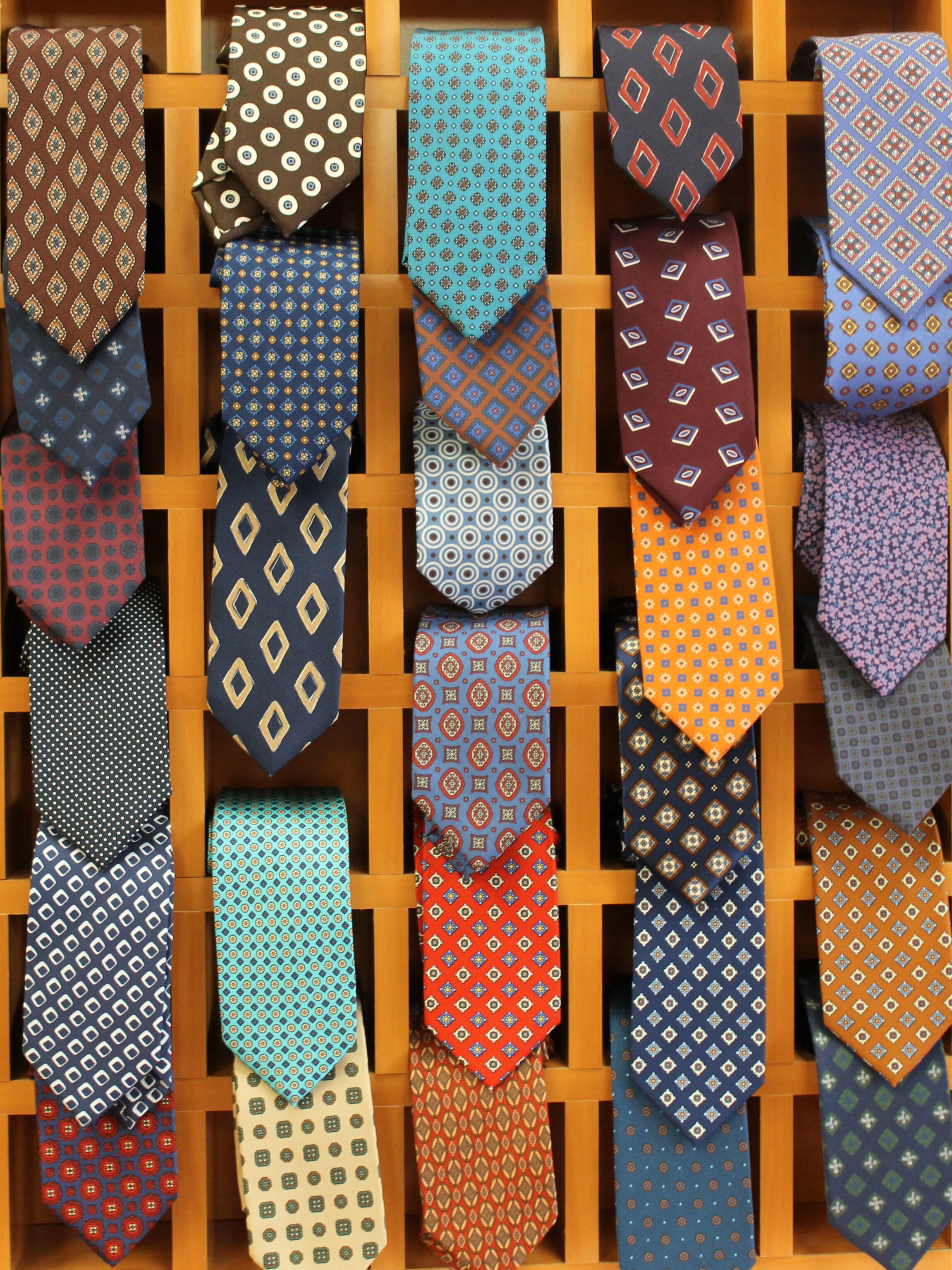 Wide Selection of Ties