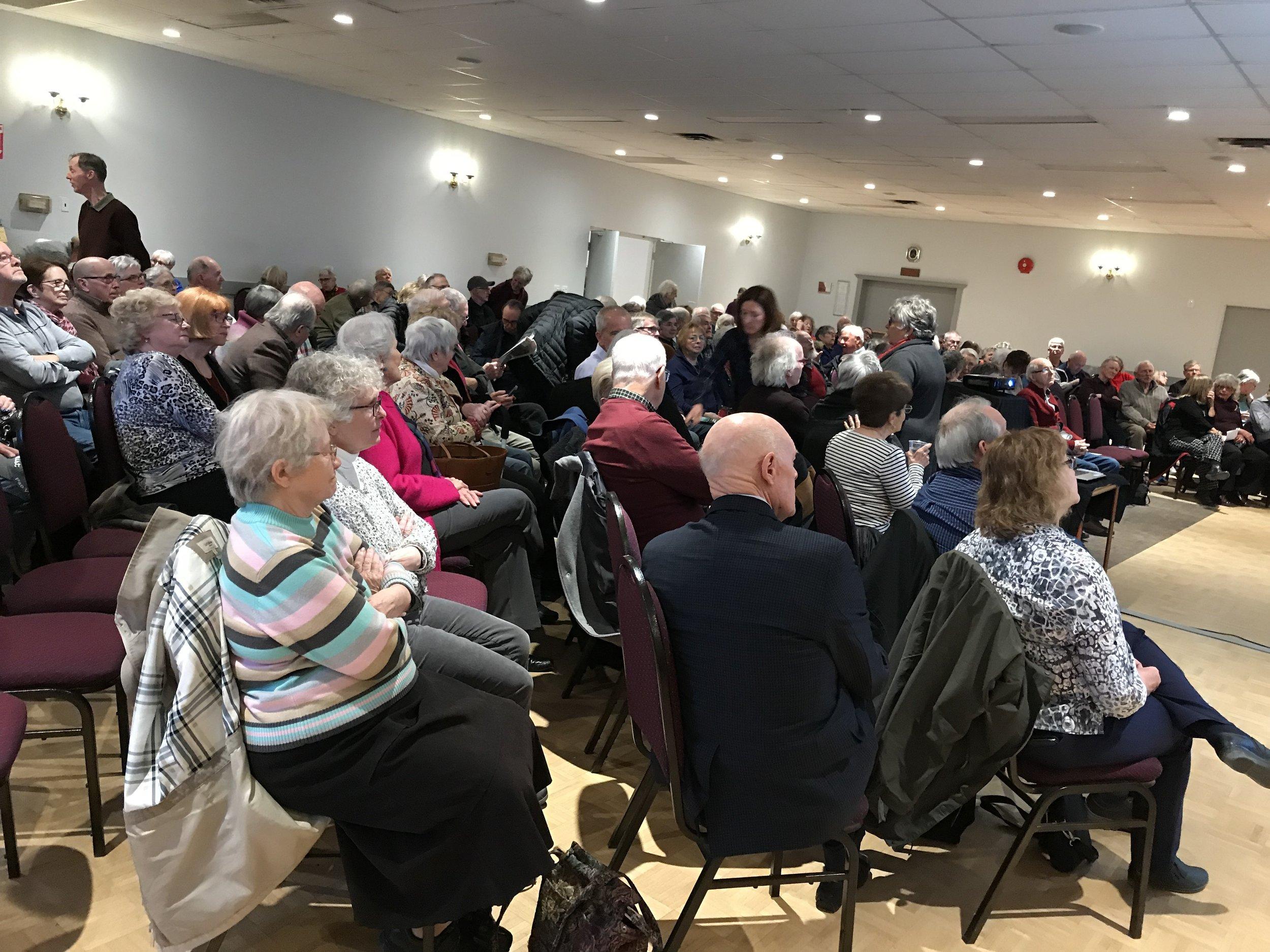 Full house in Cobourg