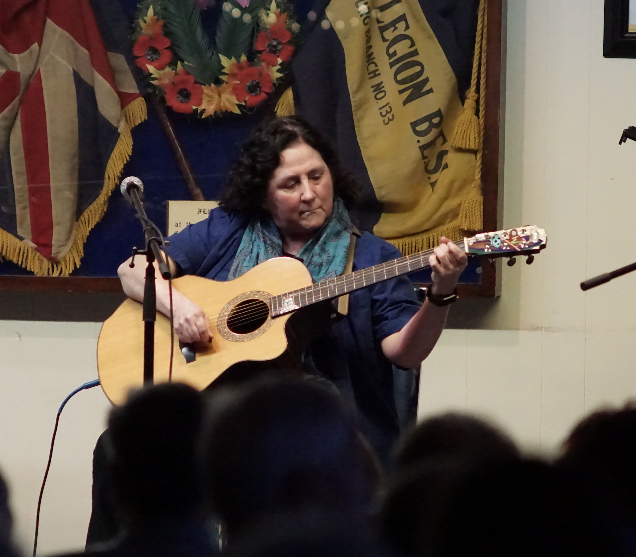 Jean Hewson performs at the Kitchen Party