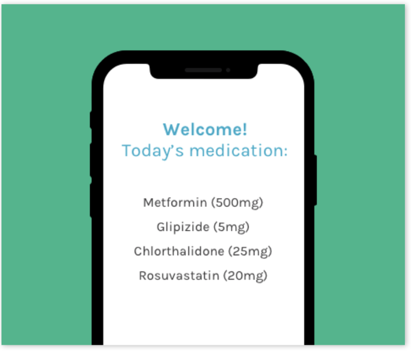 01 - Once you enroll, you will receive access to a personalized mobile app that you will use to take daily videos of yourself while taking medications.