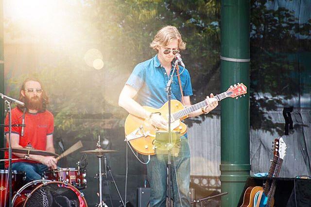 Last Saturday... • • • #gretsch #gretsch6120 #gretschguitars #chetatkins #nashville #tama #tamadrums #zildjian #americana #franklinstrap #warhorse