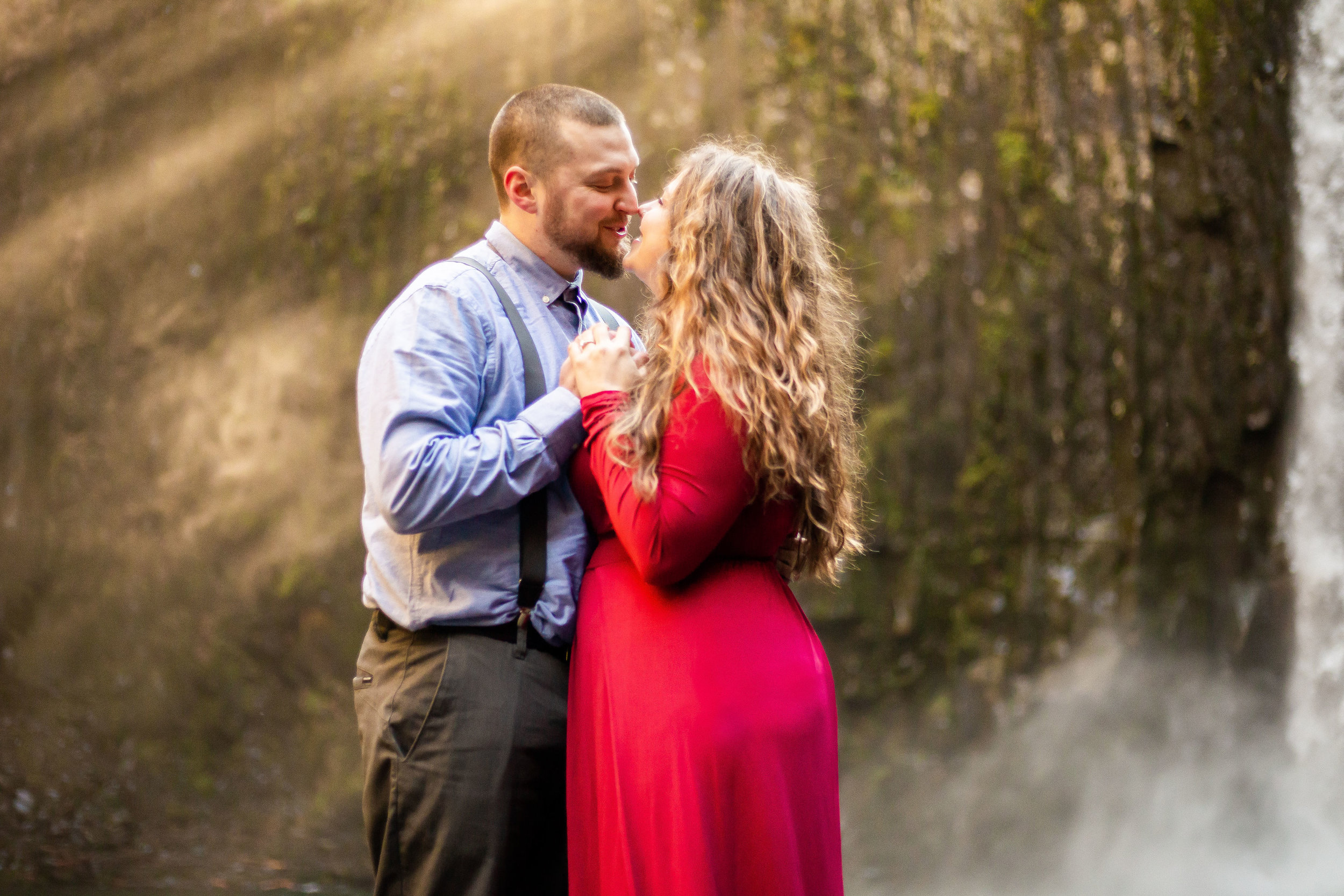 Alyssa + Josh - Waterfall Session
