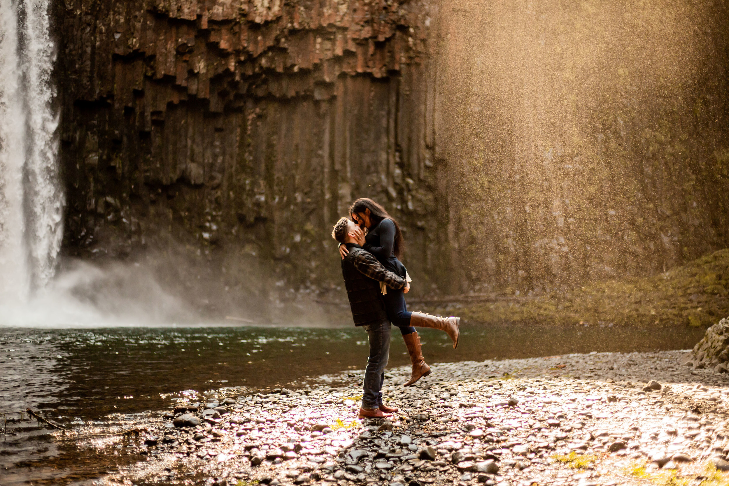 Lex + Nick - Waterfall Session