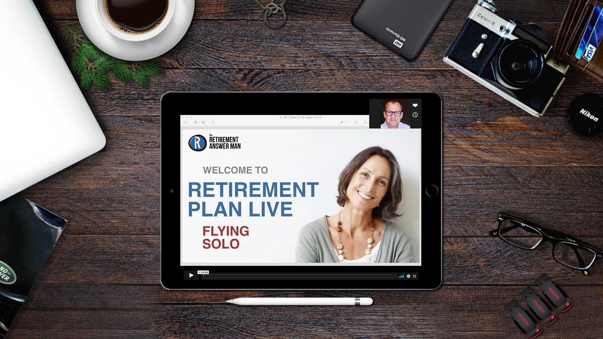 Webinar replays - Now available in Retirement Resources!