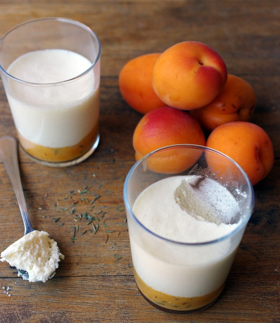 Vanilla mousse with peppered apricots.jpg