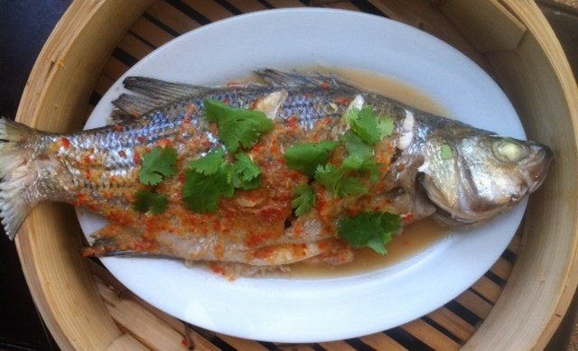 Steamed fish with lime and chili.JPG