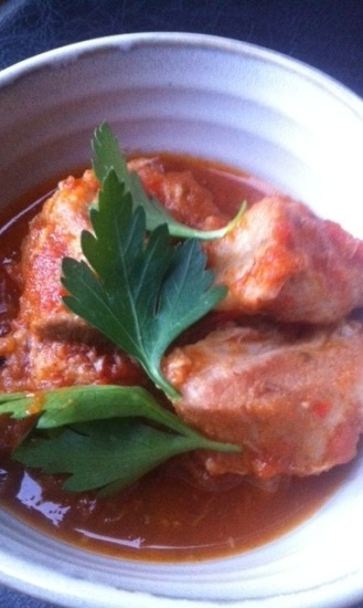 Pork and garlic in tomato sauce.jpg