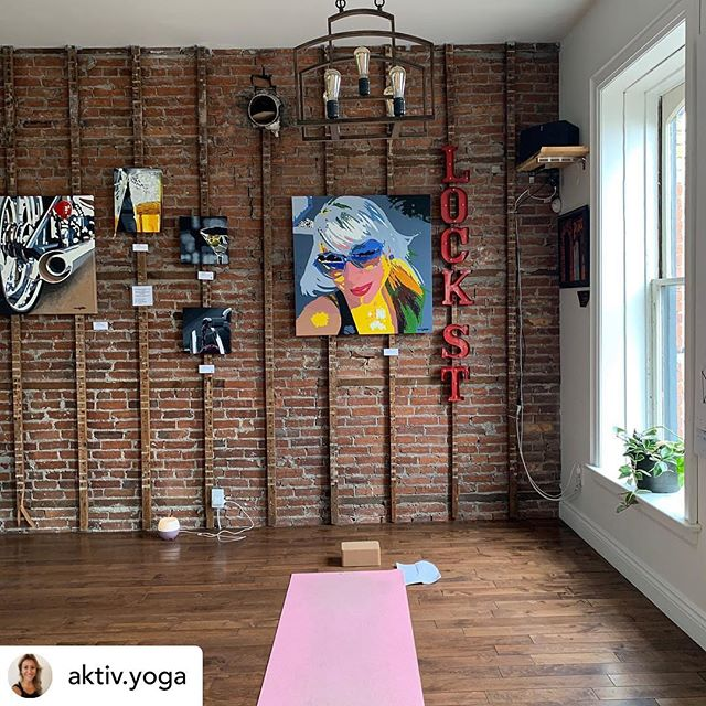 Posted @withrepost • @aktiv.yoga Each time you show up on your mat is a new opportunity to stretch your body and mind. To learn something about 'you', grow your consciousness and intuition, and a connection to your creative side.  Join us in our new space—the Lounge @lockstreetbrewco  Schedule in our bio, drop-in  #yoga #consciousness #intuition #creative #art #flow #aktivyoga #portdalhousie #ourhomestc #craftbeer #local #historicbuilding