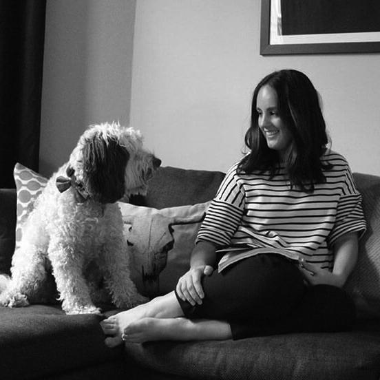 julia-and-dog-bw.png