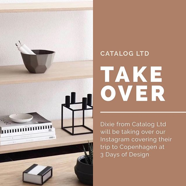 We're excited to announce that the lovely Dixie from @catalog_ltd will be taking over The Clique's Instagram for the next couple of days covering their trip to @3daysofdesign in Copenhagen. ⠀⠀⠀⠀⠀⠀⠀⠀⠀ Stay tuned for super Skandi interior goodness and city highlights. Do say hi 👋 and enjoy the journey! ________________________________________________________  #interior #interiordesign #interiors #interiordecor #interiorstyle #homedecor #homedeco #homestyle #homedecoration #homeinterior #homeaccessories #homewares #homewarestore #homewaresonline #thecliquelifestyle #theclique #girlboss #girlgang #womenempowerment #onlineresource #interiorscommunity #3daysofdesign #3daysofdesign2019 #catalogltd #edinburghinteriors #copenhagen