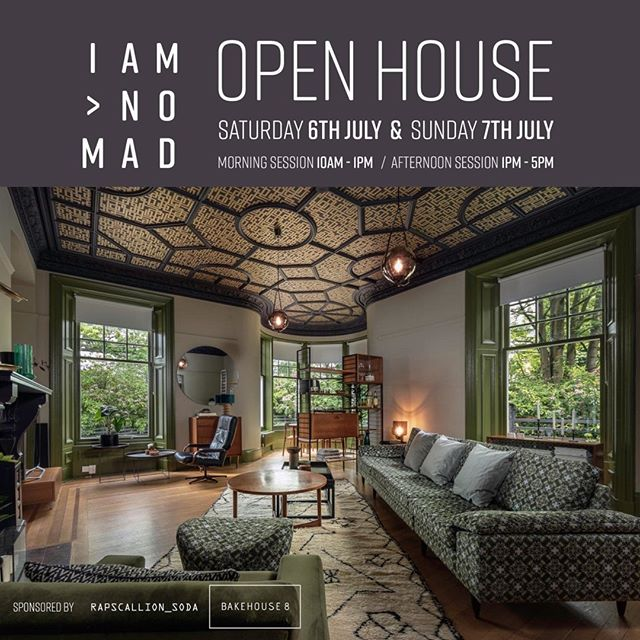 """Who's all going to the next @iam.nomad open house? We can't wait to see the rest of Claire's new living room revamp and view the lovely collaborations with @ionacrawford and @farrowandball. See you there?⠀⠀⠀⠀⠀⠀⠀⠀⠀ ________________________________________________________ ⠀⠀⠀⠀⠀⠀⠀⠀⠀ """"Good morning all ... at last I have another date for the next open house!! Saturday 6th  and Sunday 7th of July ⠀⠀⠀⠀⠀⠀⠀⠀⠀ I hope you can all make it !!?? The free tickets will go on sale on the website next Monday and each day will be in 2 sessions morning and afternoon ⠀⠀⠀⠀⠀⠀⠀⠀⠀ I am also so lucky this time to have 2 amazing sponsors for the food and drink ( means I won't be up till all hours cooking !!) All the food is going to be supplied but the wonderful @bakehouse_8 a new and very cool Glasgow based catering company and drinks will be supplied by the delicious @rapscallion_soda ⠀⠀⠀⠀⠀⠀⠀⠀⠀ 2 fantastic local entrepreneurs that I am super grateful to - it's worth coming just to taste their products!! @farrowandball will also be here and some others still to announce!! I am so looking forward to seeing you all again and meeting some new faces of Instagram!! So don't forget next Monday for the tickets .... don't worry I will remind you again !!!""""⠀⠀⠀⠀⠀⠀⠀⠀⠀ ________________________________________________________ ⠀⠀⠀⠀⠀⠀⠀⠀⠀ #openhouse #interior #interiors #midcenturymodernhome #midcenturyliving #retro #vintage #vintagefurniture #vintagefurnitureforsale #farrowandball #interiorinspo #interiorfriends #midcentury #colourexpert #localbusiness #supportlocalbrand #supportlocalbusiness #thecliquelifestyle #theclique #onlineresource #interiorscommunity"""