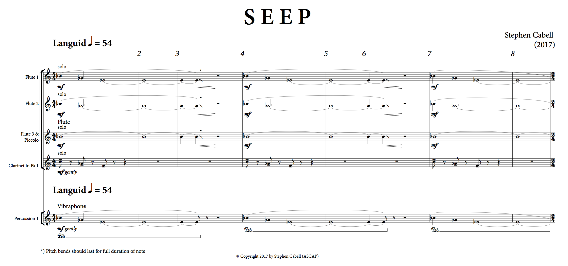 SEEP optimized score: page 1