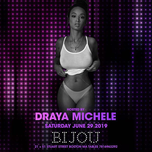 Next Saturday two floors of the one and only @drayamichele