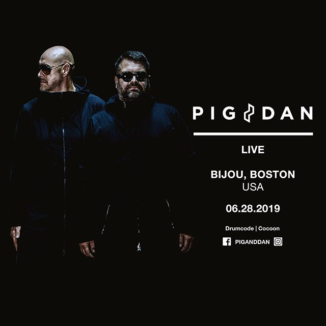 Live set by @piganddan this Friday June 28th. Tickets available www.bijouboston.com