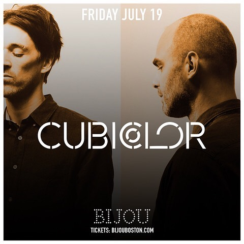 #bijoufridays continues with @cubicolor tickets available www.bijouboston.com