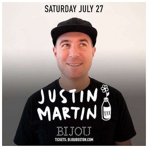 @dirtybirdrecords regular @justinmartin returns to Bijou this Saturday!