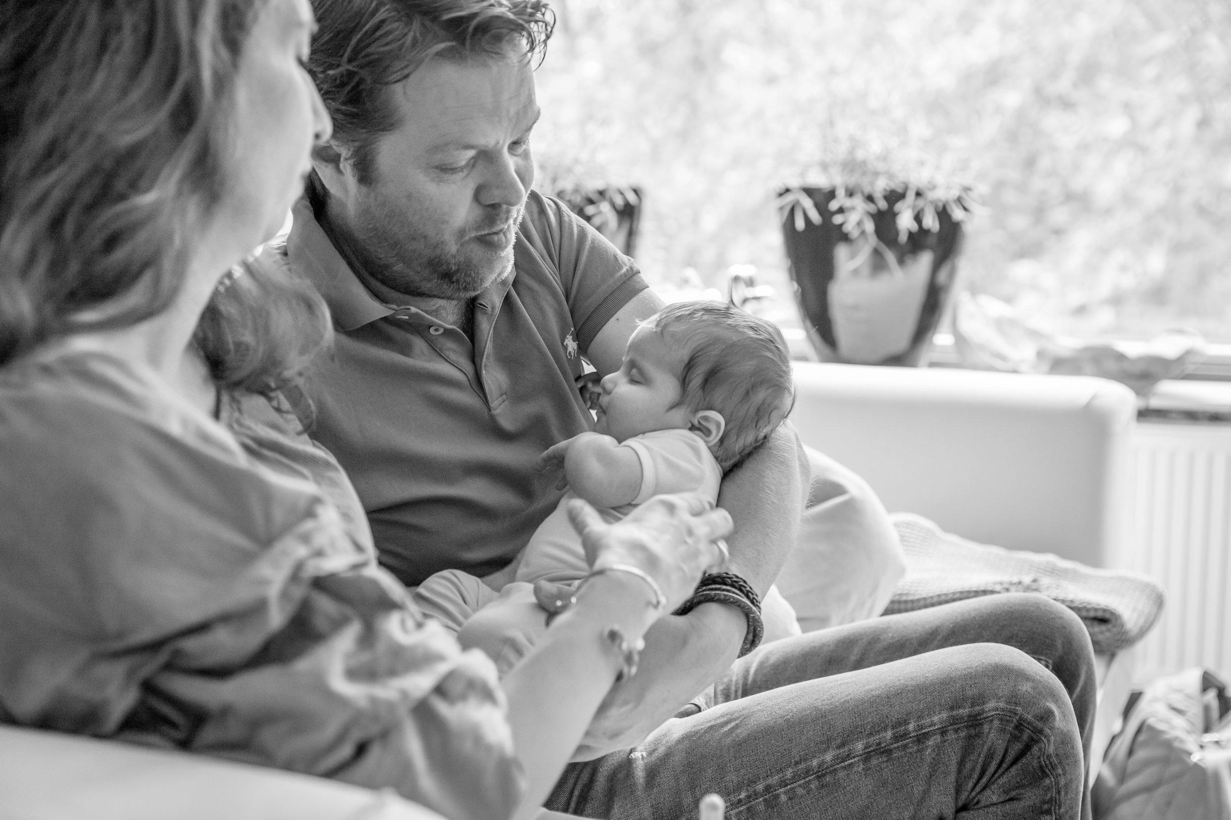 lifestyle newborn sessie Rotterdam, de meent, van zanten
