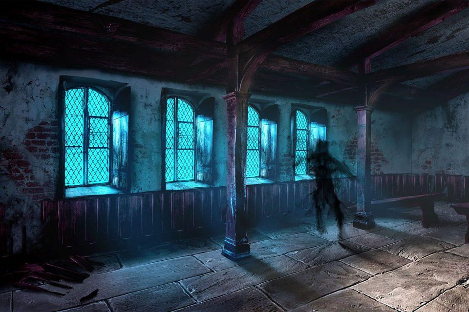 Environment art for 'Chained' - Aaron Sims Creative