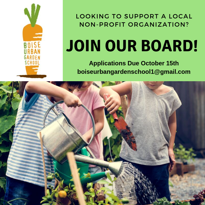 ENGAGE. We are currently looking for volunteer Board Members to help further our mission! If you or someone you know might be interested in working with BUGS more formally, we'd love to hear from them! While all backgrounds and experience are welcomed, we could really use some help with the following skill sets: Financial/Accounting, Graphic Designer, Event Planning.Thanks for your thoughts and help getting the word out. We're excited for all that's to come at BUGS and in supporting our community. -