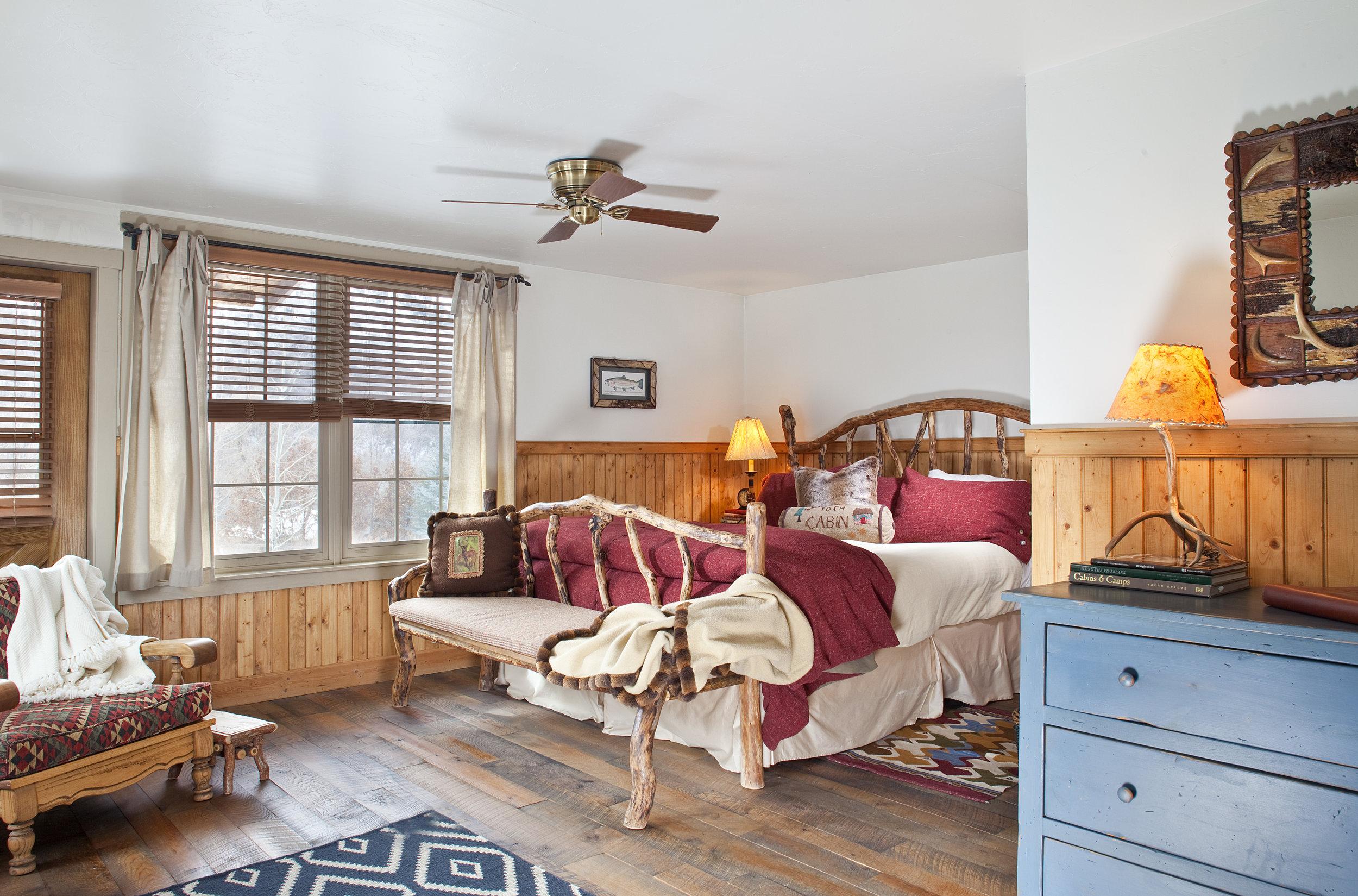 Mountain House 1st Floor Bedroom