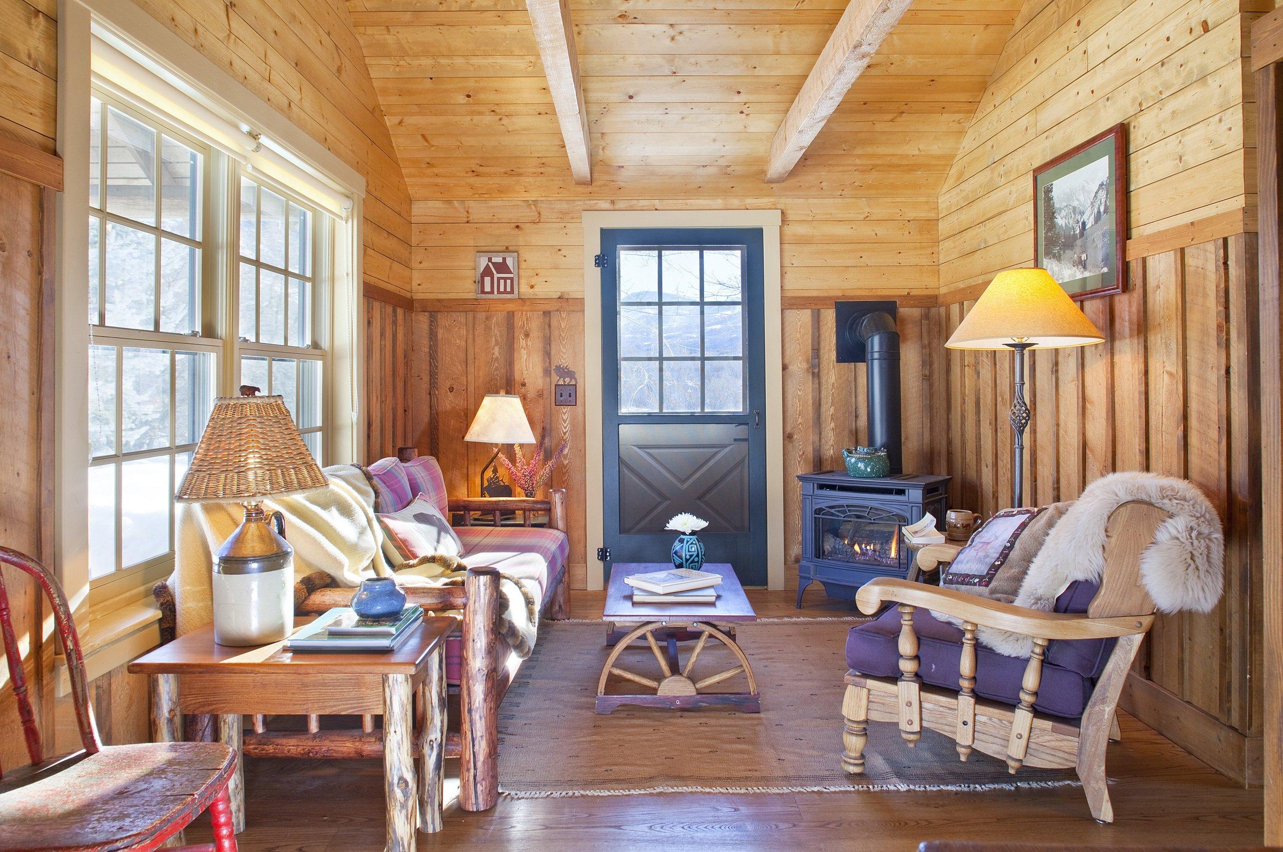 Oak Cabin - One of 3 Guest Cabins