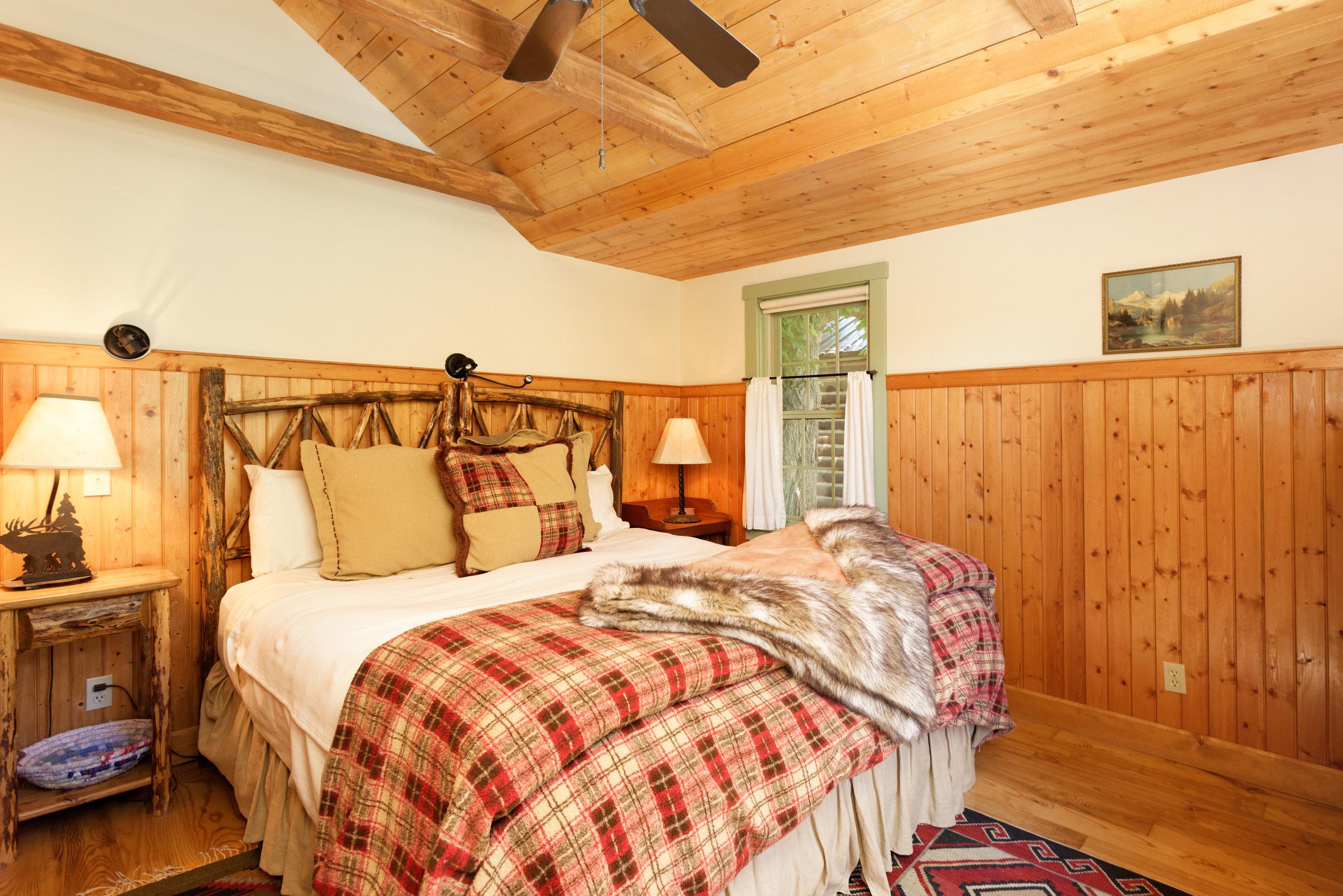 Guest Cabin Bedroom