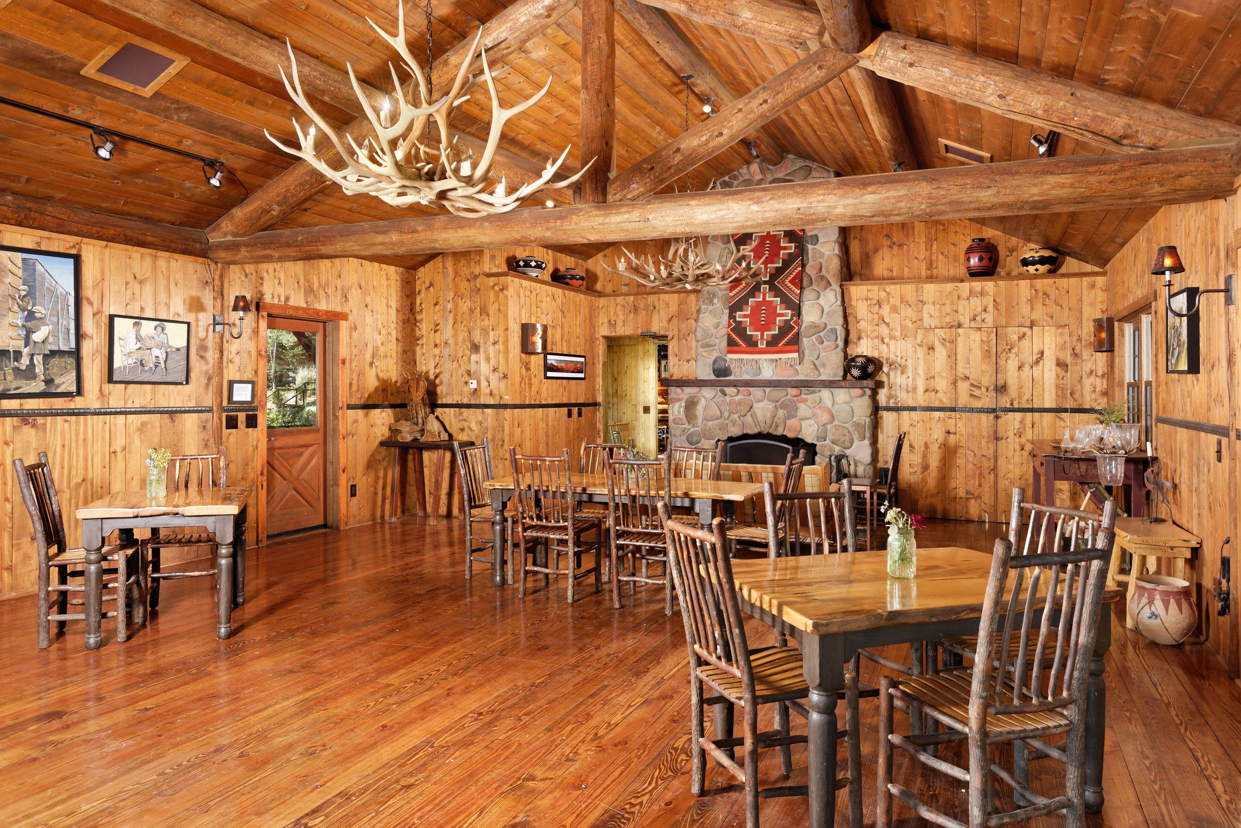 Fireside Room Adjoining Old Elk Lodge
