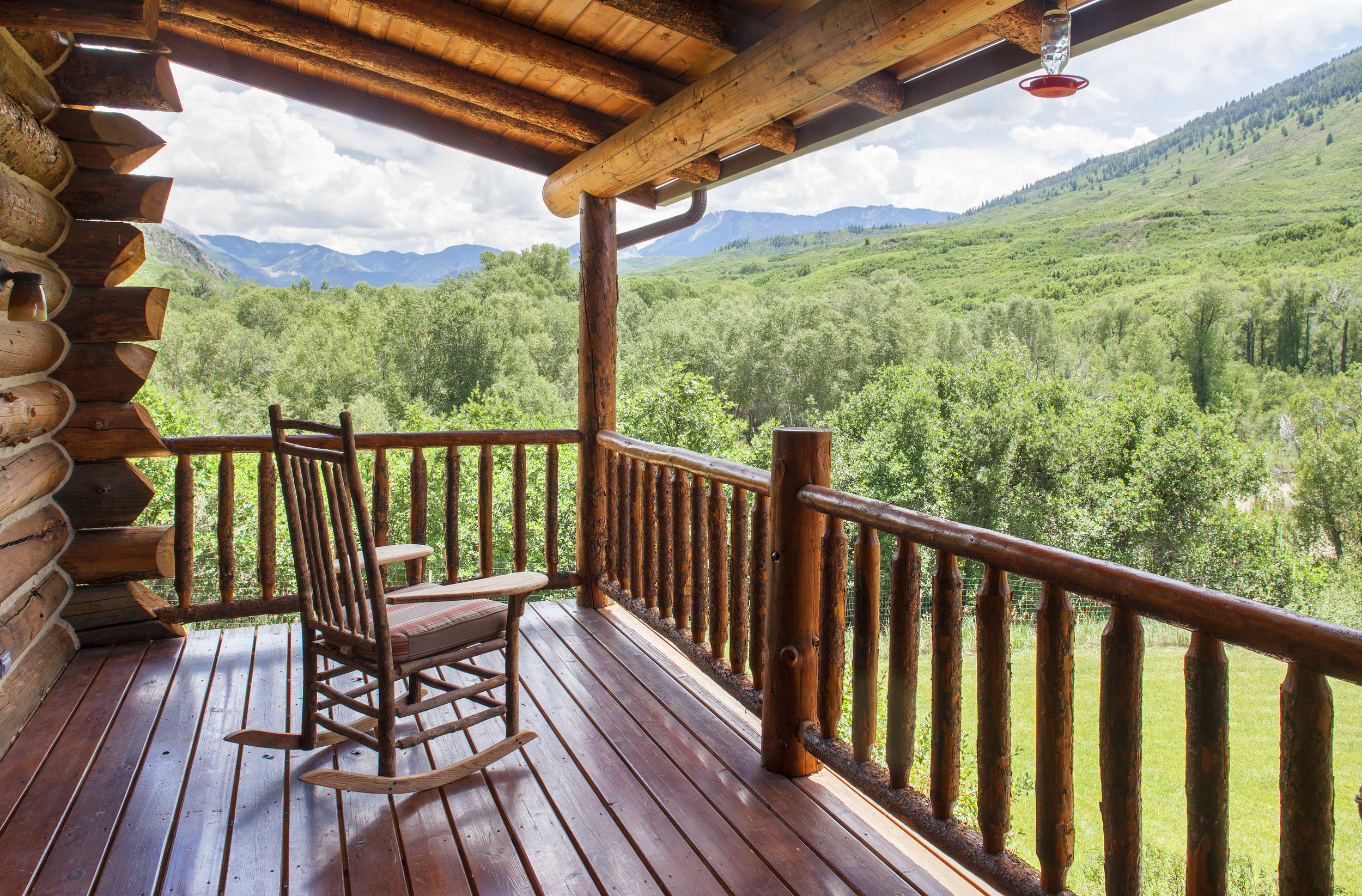 Hill House Deck off Master Suite