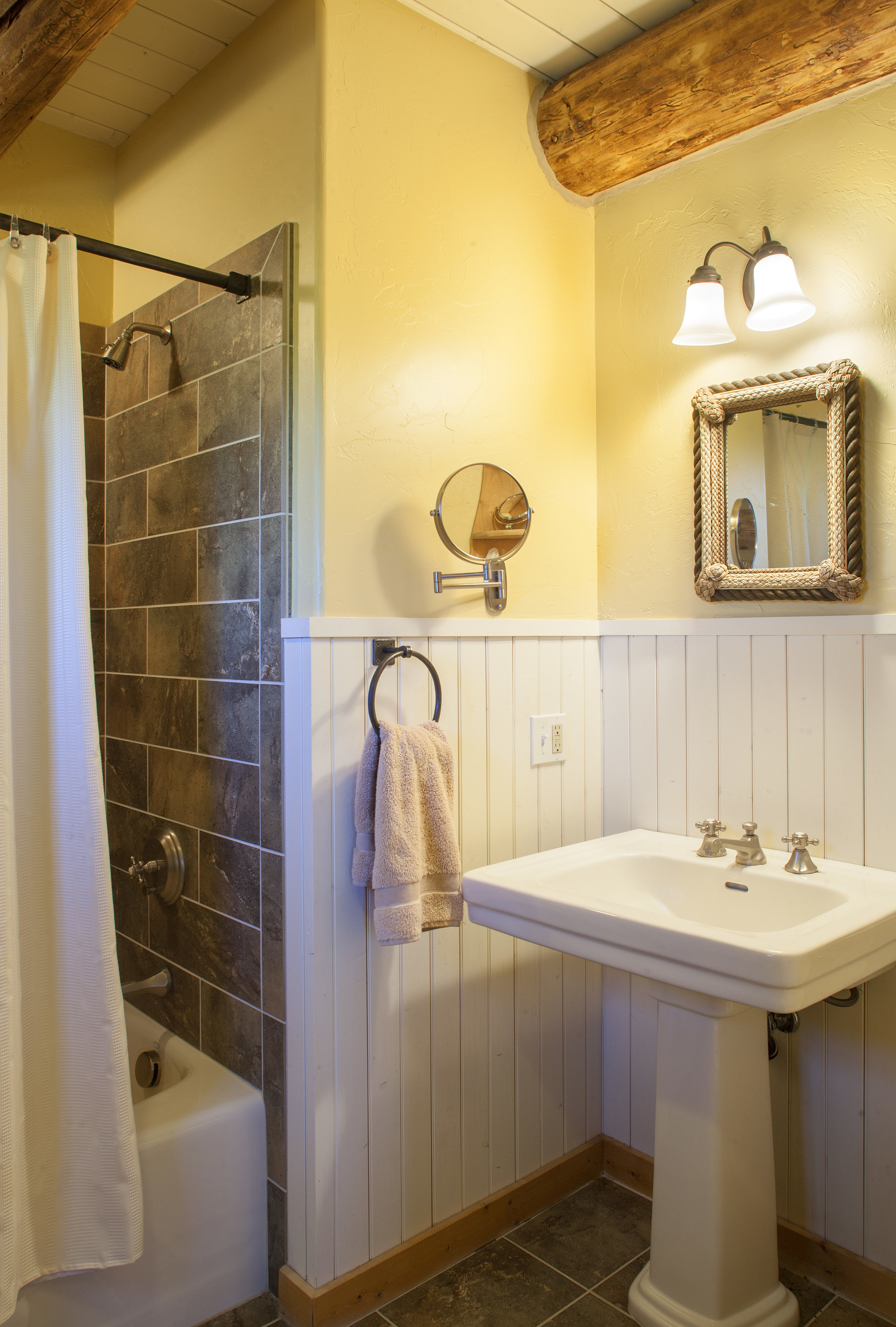 Guest Bathroom Located on the First Floor