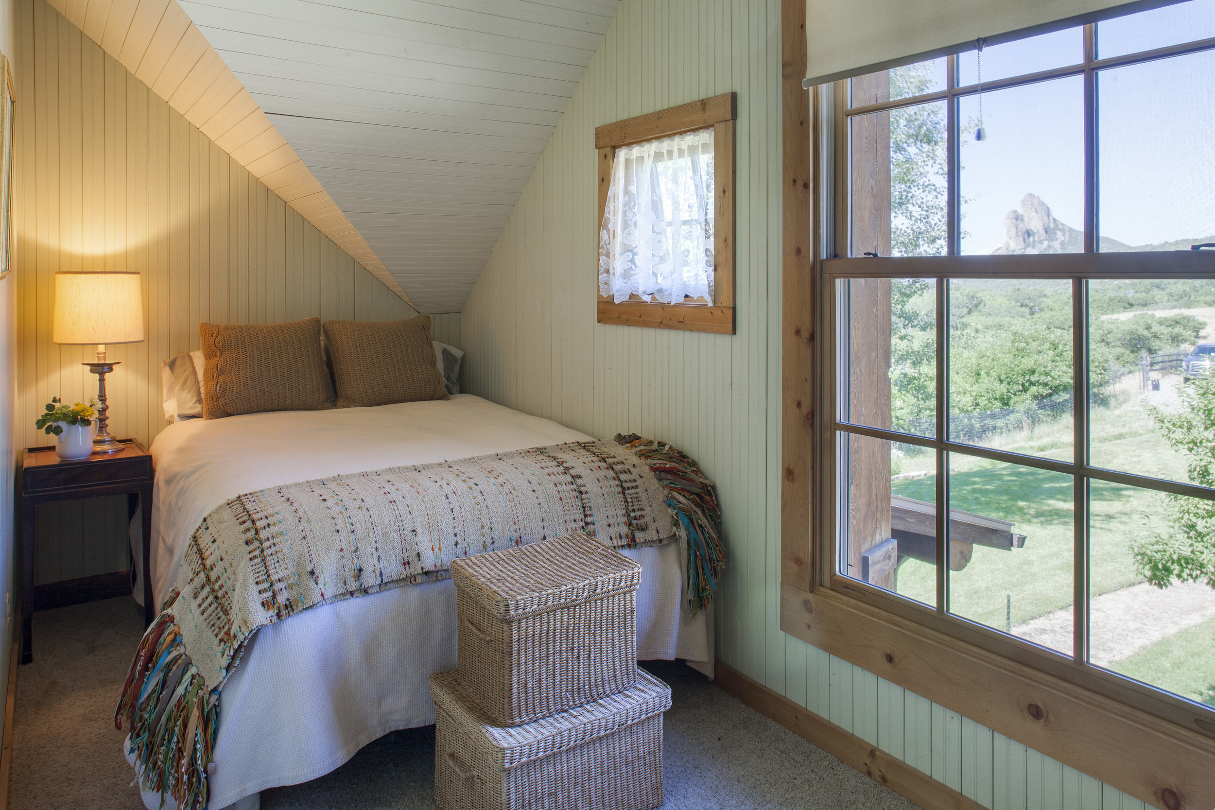 Needle Rock Bedroom with Views Facing West.