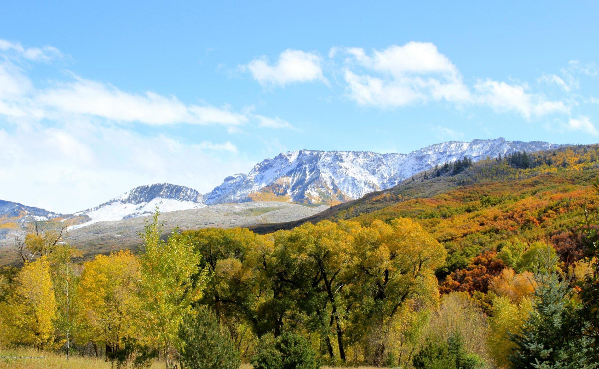 View from Oak Cabin toward West Elks