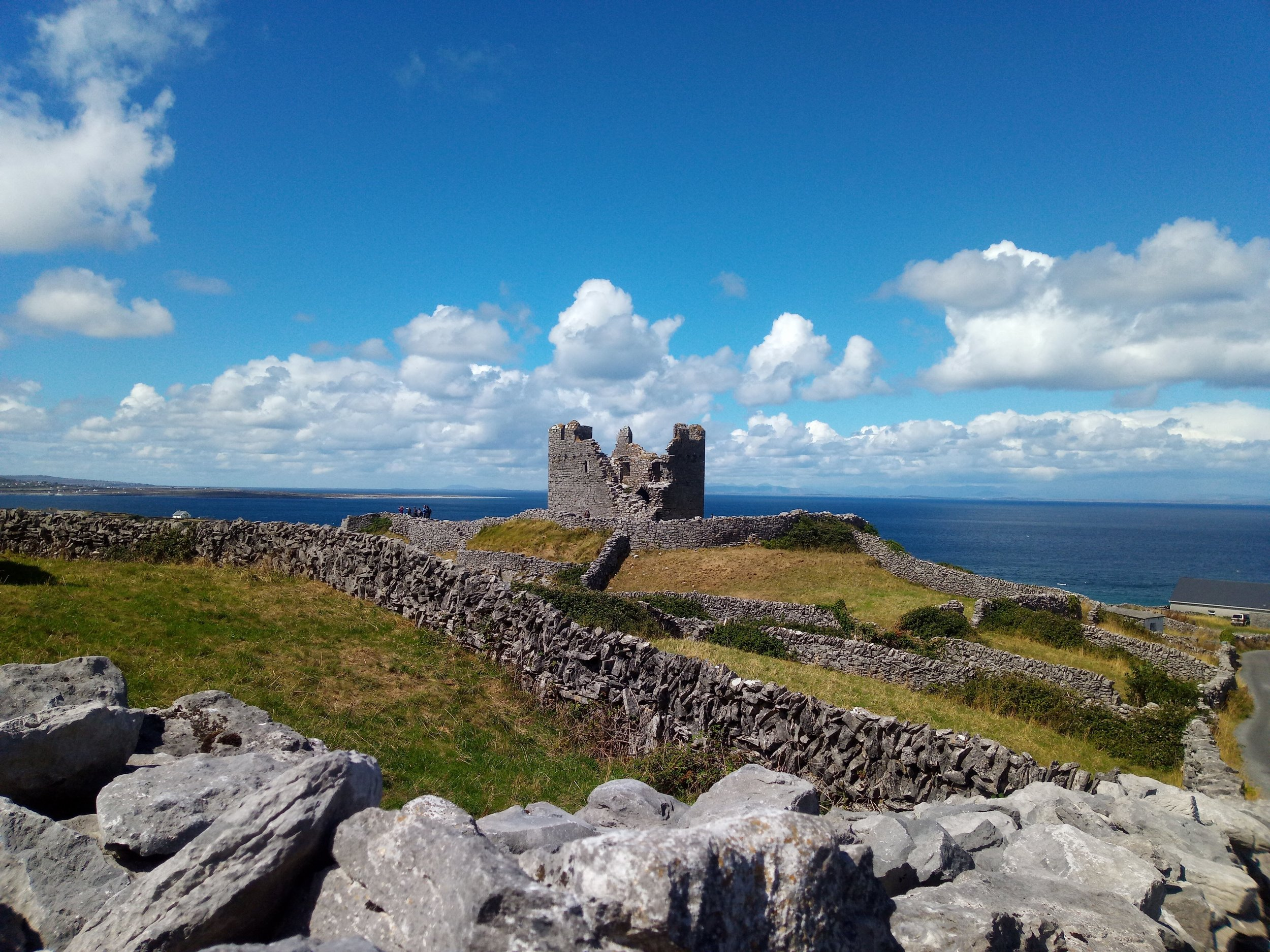 """O'Brien's Castle"" Inis Oírr, Ireland"
