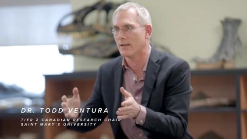 Project co-lead Dr. Todd Ventura