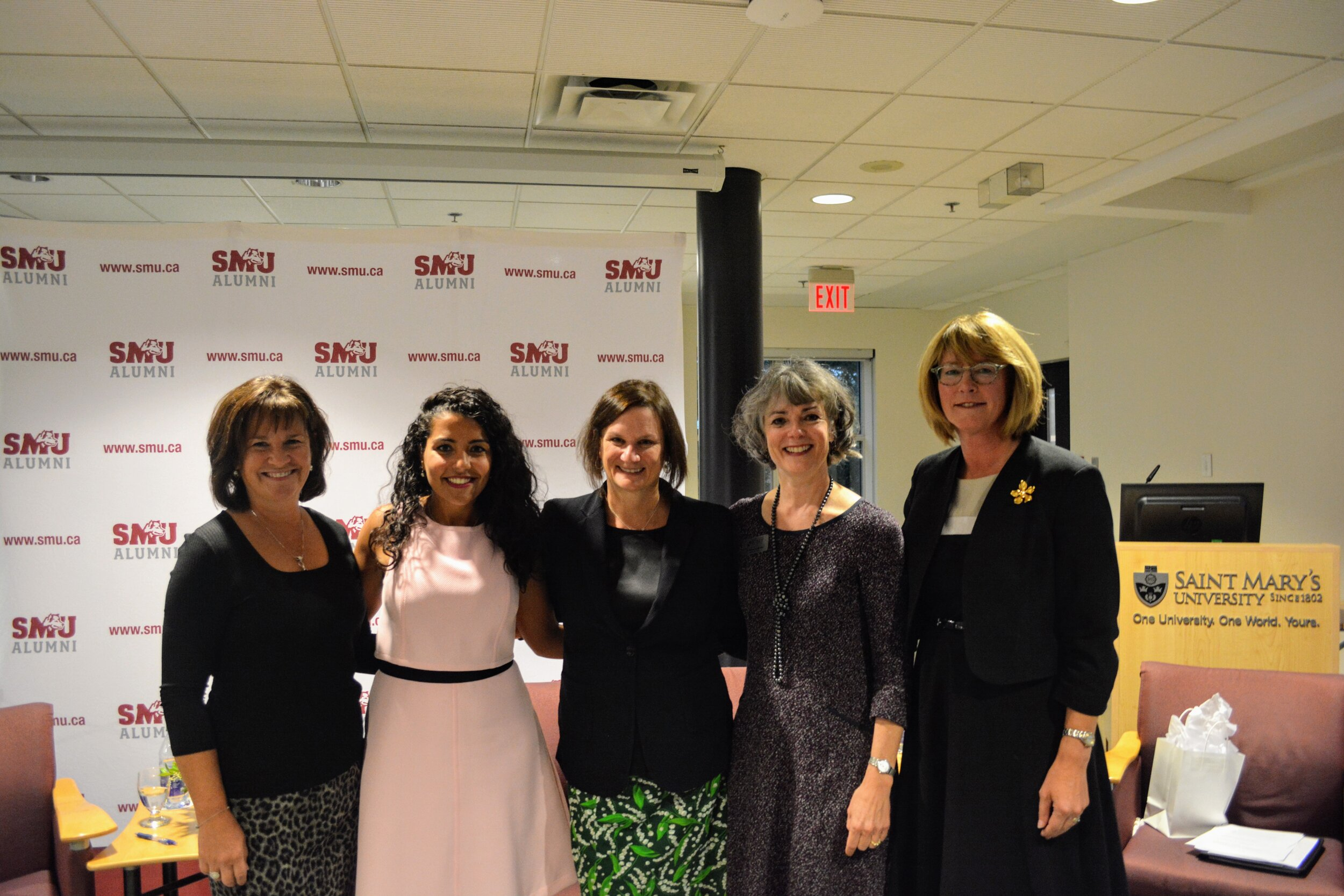 Canadian Women in Philanthropy panel