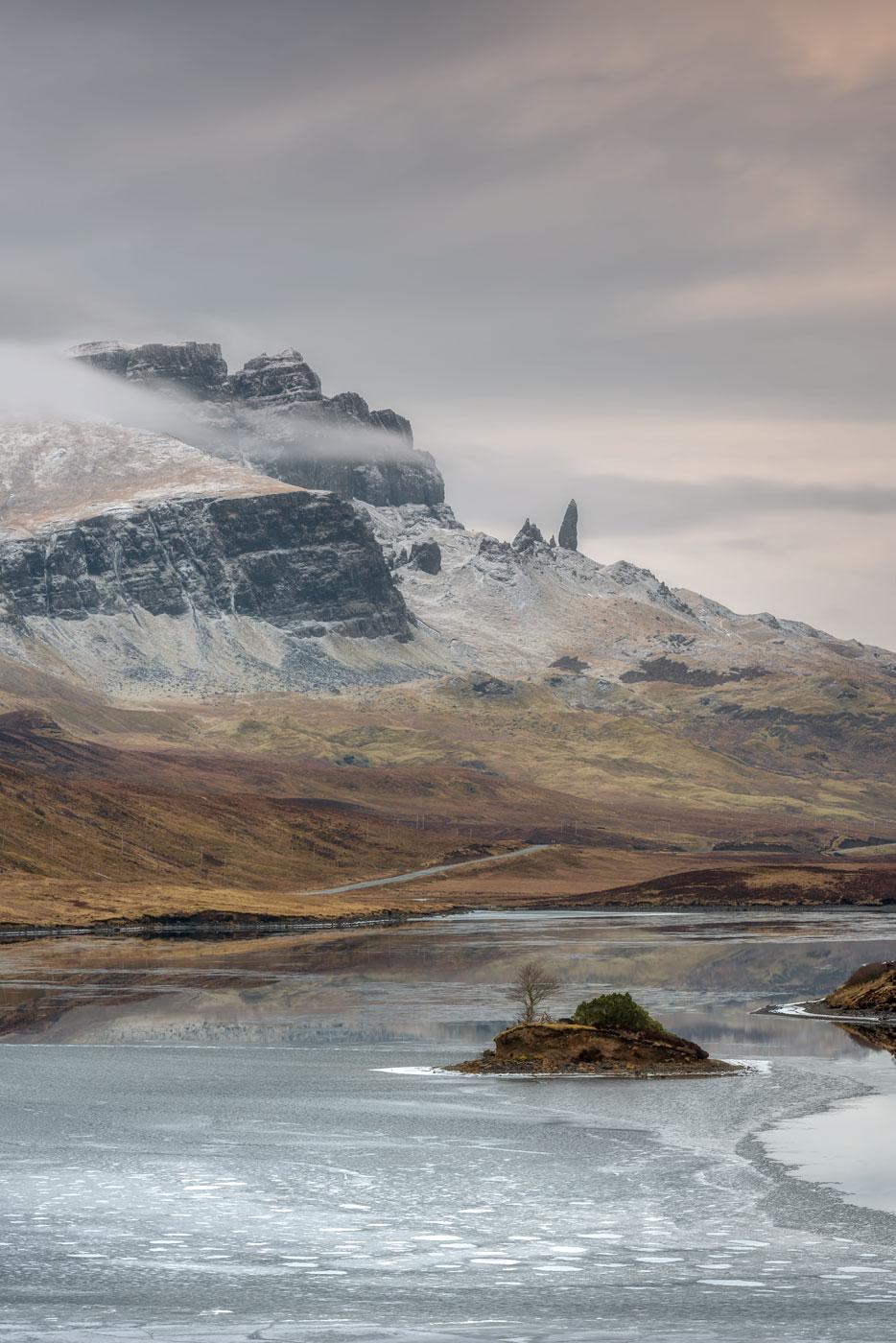 Loch Fada & the Old Man of Storr, Isle of Skye