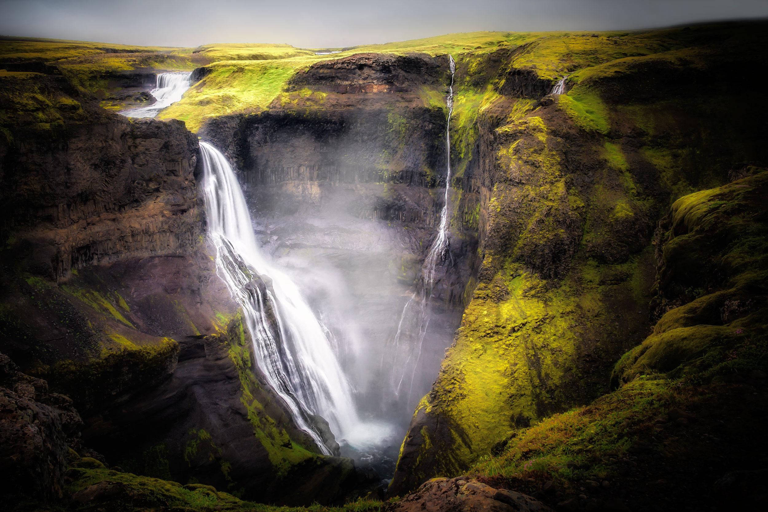 Haifoss Waterfall