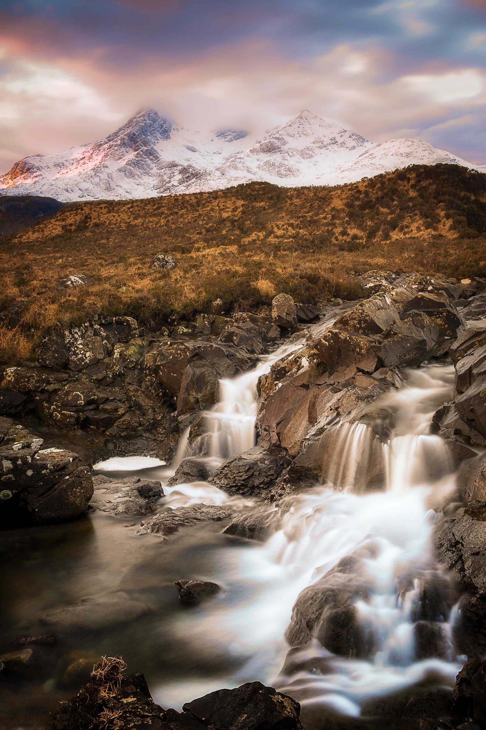 Sligachan Waterfalls, Isle of Skye