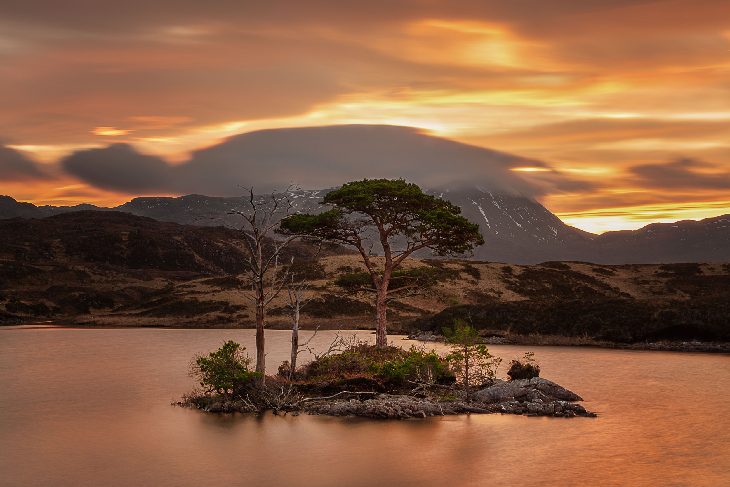Loch Assynt - Nisi Landscape CPL & Nisi 4 Stop Graduated Filter