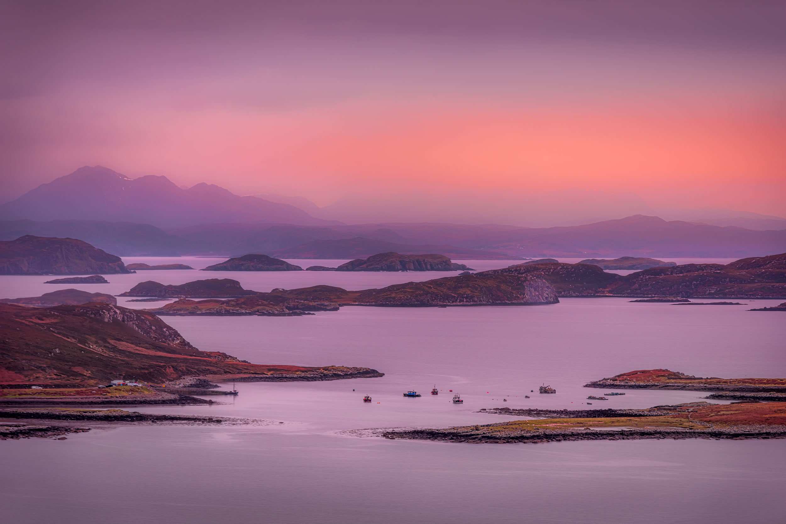 The Summer Isles, Scotland
