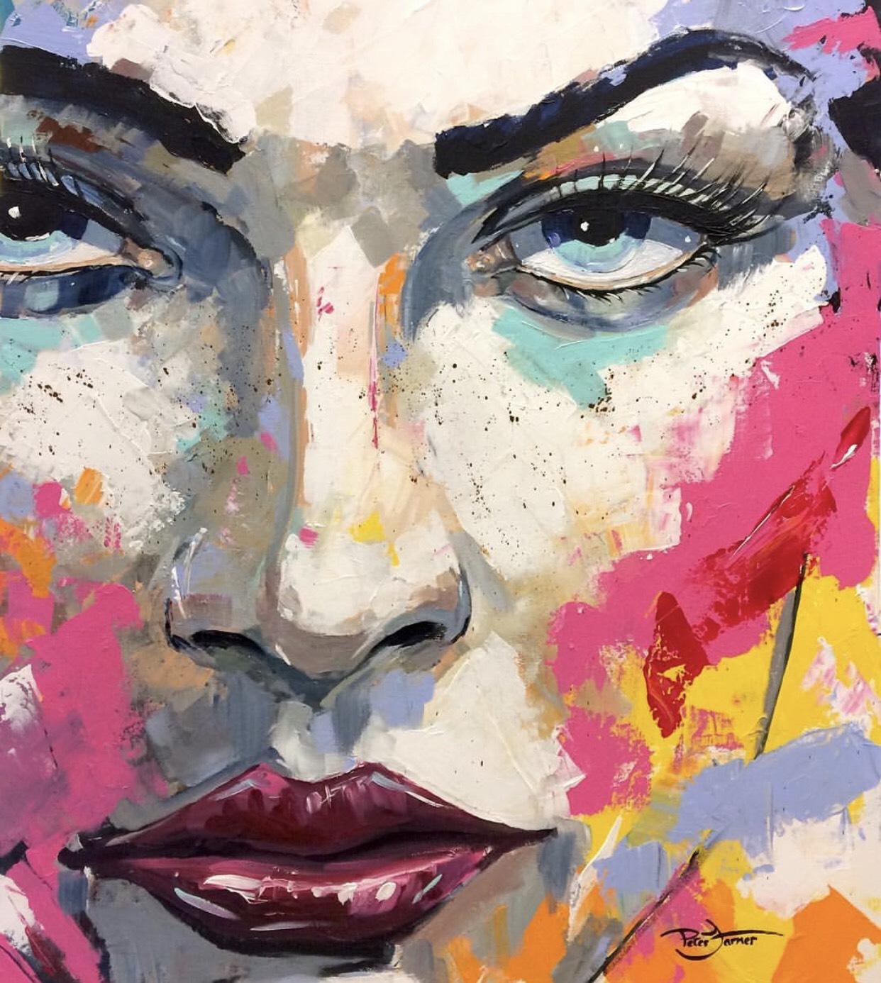 Cauley Ferarri - Painting - Peter Farmer