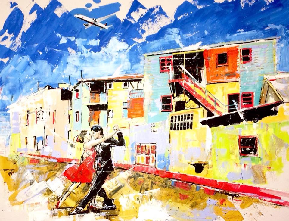 Air Canada - Painting - Peter Farmer