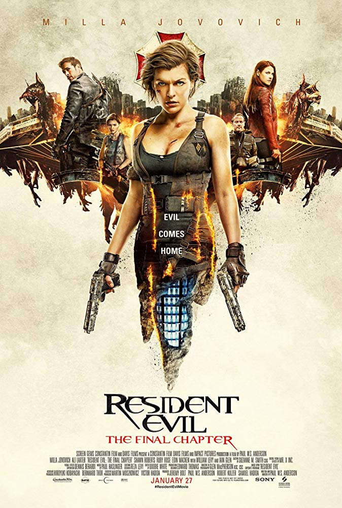 Resident Evil: The Final Chapter - Sony - Visual Effects - Asha Bhaskaran