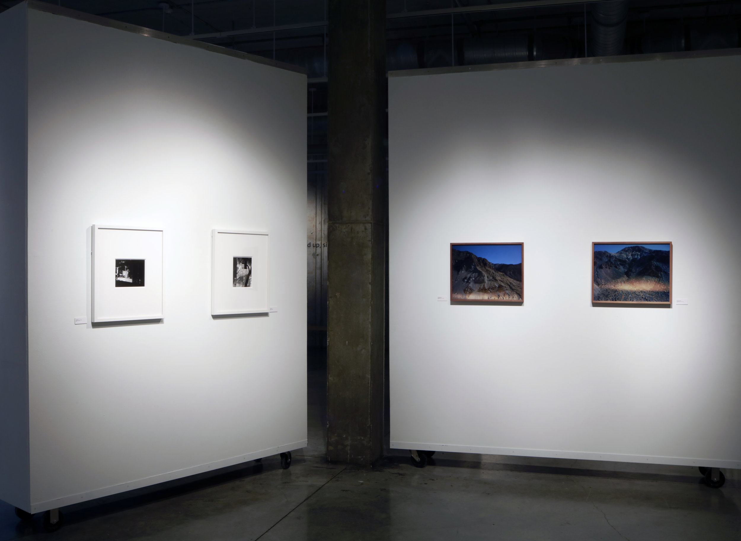 sites of buildup, sites to mine exhibition